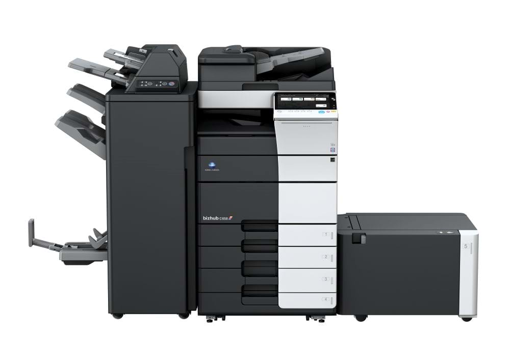 Konica Minolta bizhub c658 office printer